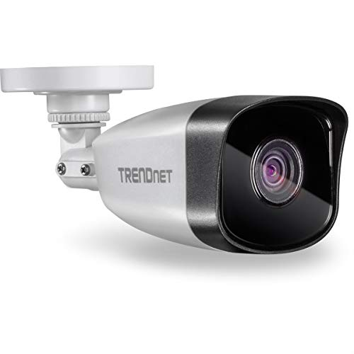 TRENDnet Indoor/Outdoor 1MP H.264 PoE IR Bullet Network Camera, Night Visions up to 30m (98ft), IP67, Motion Detection, TV-IP324PI