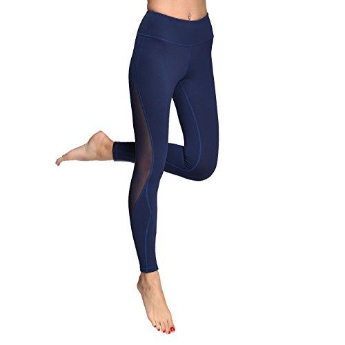 Fitness Leggings Material: Mesh Workout Leggings Pants Navy Workout Leggings Yoga