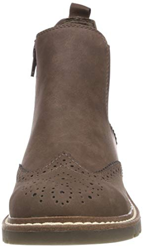 S 25444 marrone 21 oliver 304 Chelsea mocca Boots Brown rrz74fOn