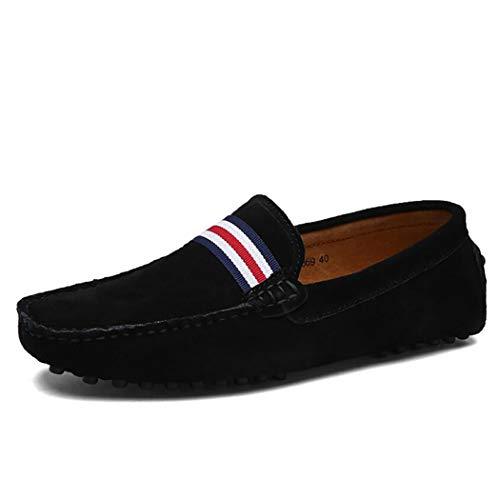 Profesional Hombre Carrera Oficina Formales Cuero Antideslizantes Paseo Ligera De Un Mocasín Gamuza Zapatos Primavera Y Otoño Informal Suela 5g4Zaq