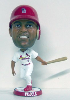 ALBERT PUJOLS CARDINALS OFFICIAL BIGHEAD BOBBLEHEAD BOBBLE by Forever Collectibles