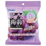 オリヒロ ぷるんと蒟蒻ゼリー 新パウチ グレープ 24袋