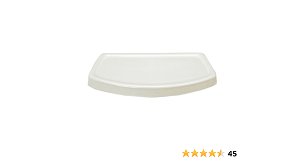 American Standard 735121 400 222 Cadet And Glenwall Right Height Toilet Tank Cover For Models 4021 Linen