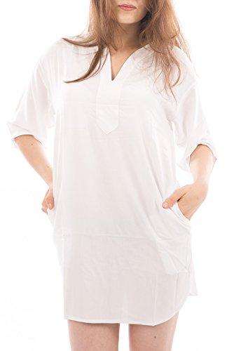 Viscose Shift Dress - 6