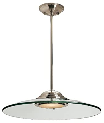 Access Lighting Phoebe Mini Pendant Light Brushed