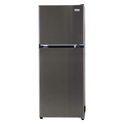 Equator-Ascoli 10.5 cu.ft. Top Mount No Frost Refrigerator, Stainless