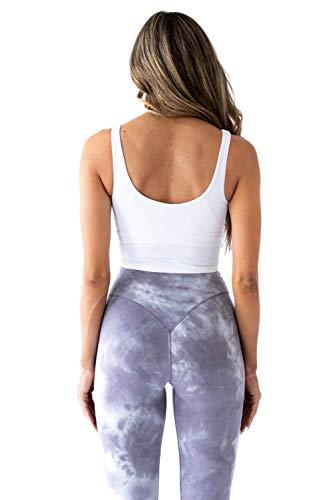 Kamo-Fitness-Ellyn-Tank-Top-Crop-Sports-Bra-for-Women-Soft-Padded-Built-in-Bra-Longline-Yoga-Running-Workout