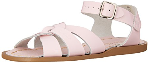 Salt Water Sandals by Hoy Shoe Original Sandal (Toddler/Little Kid/Big Kid/Women's), Pink, 3 M US Little Kid