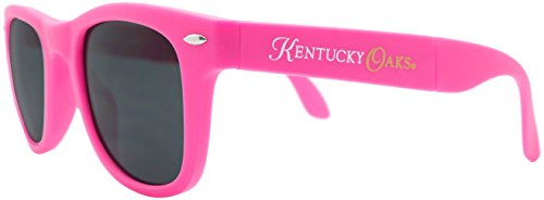 Officially Licensed Game Day/Race Day Kentucky Oaks Folding Sunglasses with Microfiber Pouch]()