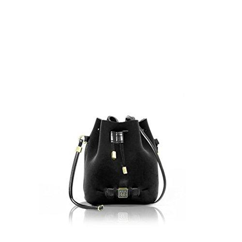 SAVE MY BAG 10150N BULLE DAMOUR VELVET NERO - MADE IN ITALY