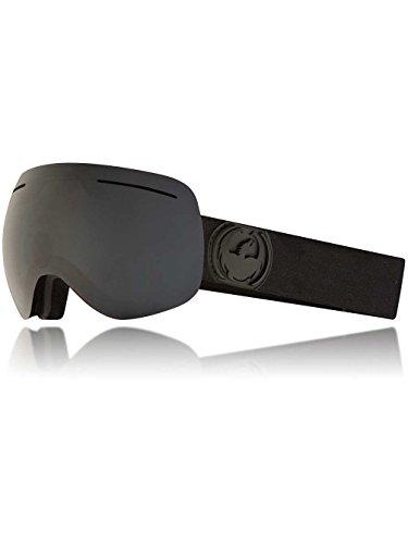 Dragon Alliance X1s Ski Goggles, Black, Medium, Knight Rider/Dark Smoke Lens