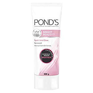 POND'S Bright Beauty Spot-less Glow Face Wash With Vitamins, Removes Dead Skin Cells & Dark Spots, Double Brightness…