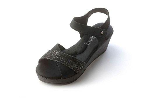 Arcopedico Womens Monterey Black Sandal - 38
