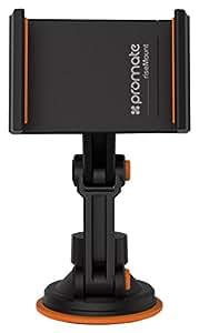 Promate Risemount Multi-Level 360 Degree Rotatable Car Mount Holder For Mobile Phones - Black