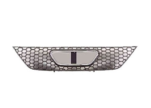 04 Grill Part Car Chrome (Ford Mustang 99-04 Front Grille Grill Car Black W/Chrome Frame Base & Gt)