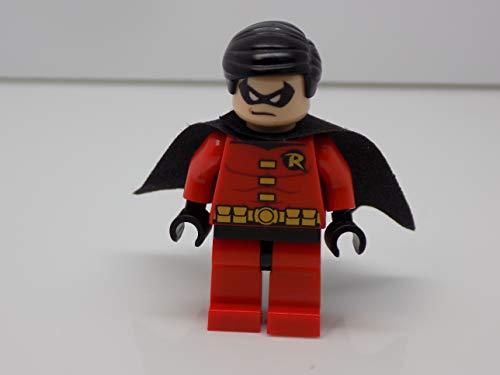 (LEGO DC Comics Super Heroes Batman Minifigure - Robin (Red))