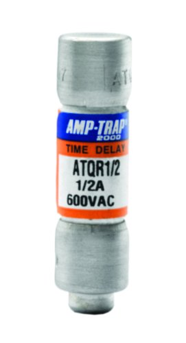 Mersen ATQR5 600V 5A Cc Time Delay Fuse, 10-Pack