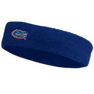 Bare Feet Embroidered Headband - Florida Gators Blue Sweat Headband