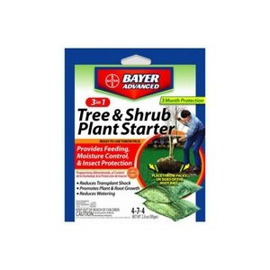 Bayer Cropscience 701660A 3 In 1 Tree & Shrub Plant Starter ()