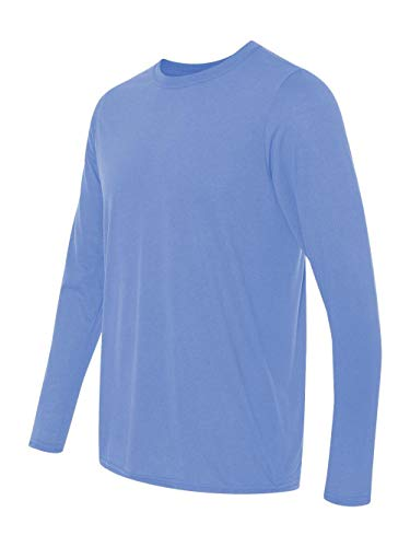 Gildan Performance� 4.5 oz. Long-Sleeve T-Shirt - CAROLINA BLUE - M]()