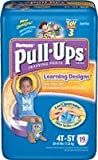 PULL-UPS BOYS TRAINING PANTS 4T/5T 19 diapers
