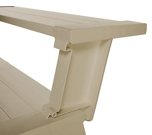 Convert A Bench Ultra Ii Outdoor 2 In 1 Bench To Table W 5