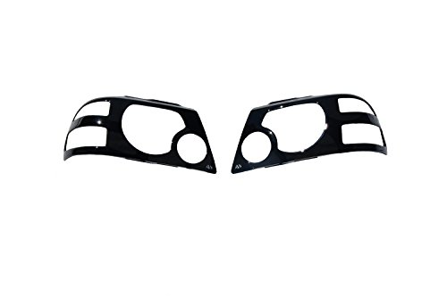 Auto Ventshade 337534 Projektorz Headlight Covers for 2004-2006 Dodge Durango
