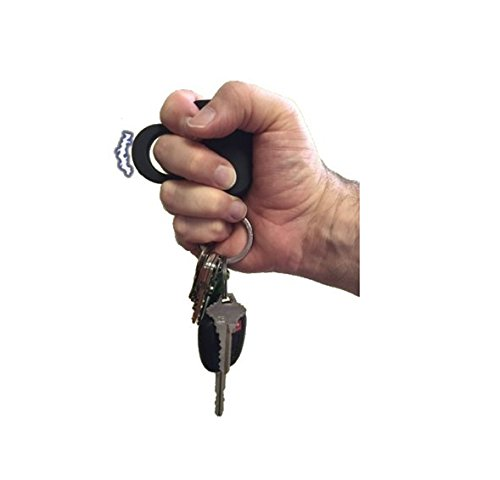Streetwise Sting Ring 18,000,000 Stun Gun (Black Keychain)