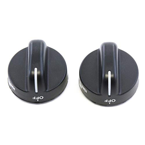 red gas range knobs - 3
