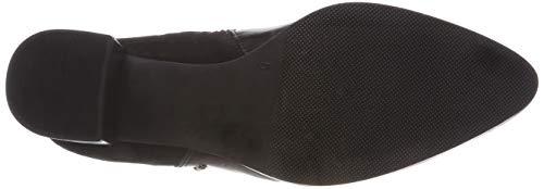 19 Black 019 Caprice 21 9 Comb Femme Botines 25308 9 Noir Uav8Aap