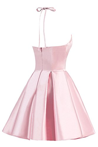 Homecoming Dresses pink Cocktail TBGirl Cute Strap A Mini Party Dress Red Short tAwHgwq