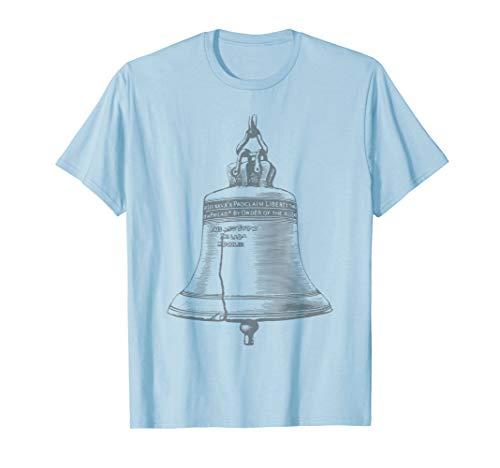 Vintage Liberty Bell Pennsylvania T-Shirt Philadelphia Free (Liberty Bell Patriotic)