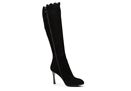 Women's Spring Autumn Leather Stiletto High Heel Boots