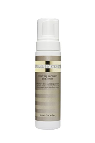 Luxury Dark Tanning Mousse Gold Edition 200ml Paraben-Free
