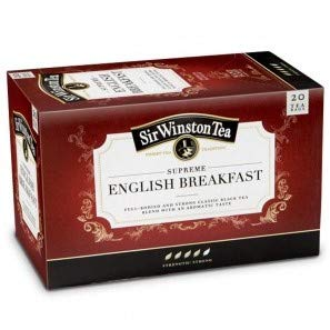 Supreme Breakfast (Sir Winston Tea - SUPREME ENGLISH BREAKFAST TEA - 4 x 20 Tea bags (80 count))