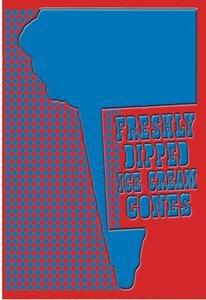 Freshly Dipped Ice Cream Cones Fine art Giclee canvas print (20 x 30)