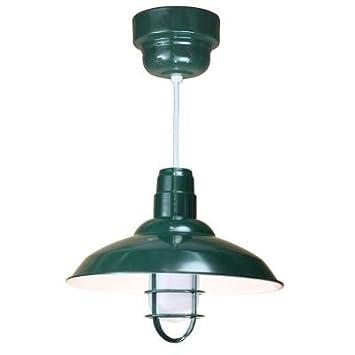 Amazon.com: 1 colgante fluorescente de techo verde claro ...