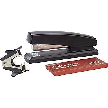 - Staples Standard Full Strip Stapler Combo Pack, 20 Sheet Capacity, Black