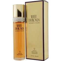 WHITE DIAMONDS by Elizabeth Taylor (WOMEN) WHITE DIAMONDS-EDT SPRAY 1.7 OZ & BODY LOTION 1.7 OZ & BODY WASH 1.7 OZ & PARFUM .12 OZ MINI