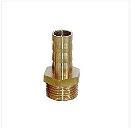 """6mm  Male Brass Hose Barbs Barb to 1//4/"""" NPT Pipe Male Thread"""