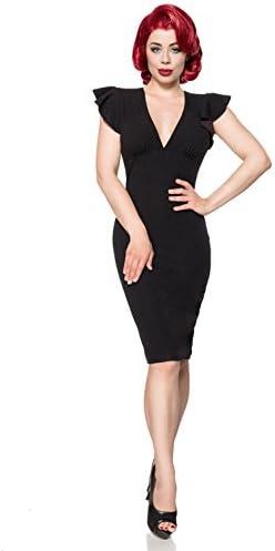 Belsira Damen Retro Kleid M