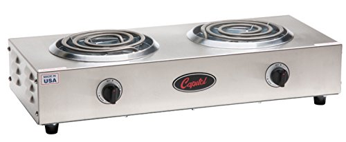 Capitol Range Double Burner Hot Plate, 20