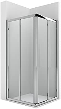 Roca AM176A0012 - Vertice ducha 2 puertas enmarcadas con dos ...