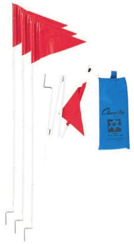 Champion Sports Soccer Fold a Flag ()