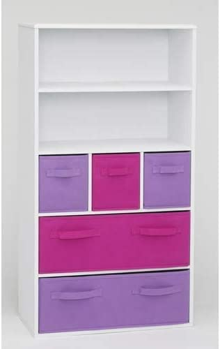4D Concepts Girl s Storage Bookcase