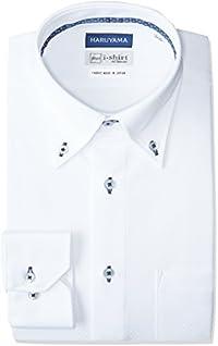 (ハルヤマ)HARUYAMA(ハルヤマ) 【アマゾン別注】 i-shirt 完全ノーアイロン 長袖 ボタンダウンアイシャツ M1