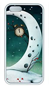 Frozen World in the Fairy Tale Iphone 5/5S White Sides Rubber Shell TPU Case by Shocklock