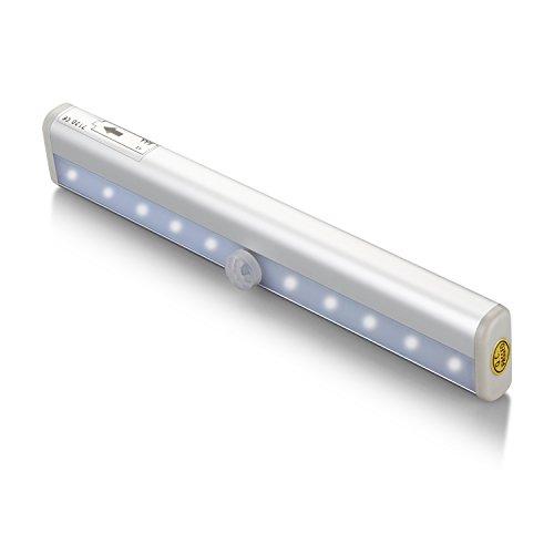 Closet Motion Sensing Light Cshidworld 10 Led Stick On
