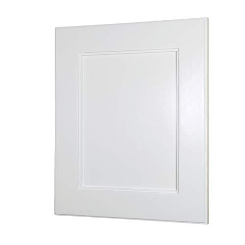 Style Shaker Cabinets Bathroom - 13x16 Shaker Style Recessed Medicine Cabinet by Fox Hollow Furnishings (Regular, White)