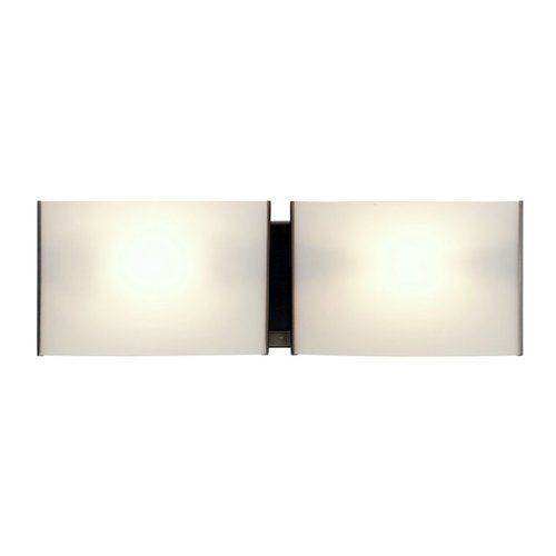 DVI Lighting DVP1757SN-OP Bathroom Vanity with Opal Glass Shades, Satin Nickel Finish by DVI